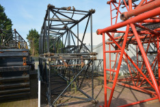 Hitachi KH230-3 boom sections 6 & 9 meter