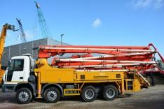 Putzmeister 36 meter on Astra truck