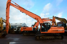 Doosan DX255LC Long Reach 18 meter